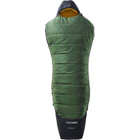 Nordisk Gormsson -2° Curve Slaapzak XL, artichoke green/mustard yellow/black